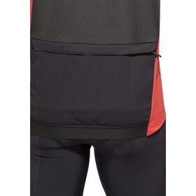 Mavic Cosmic Pro Jersey Heren, black/bright red